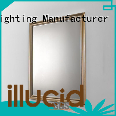JiangYi rectangle led mirror bathroom