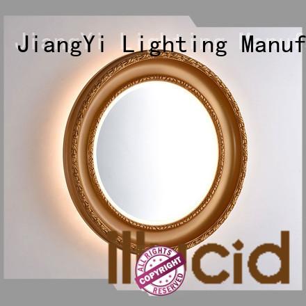 JiangYi led small led makeup mirror Suppliers make up