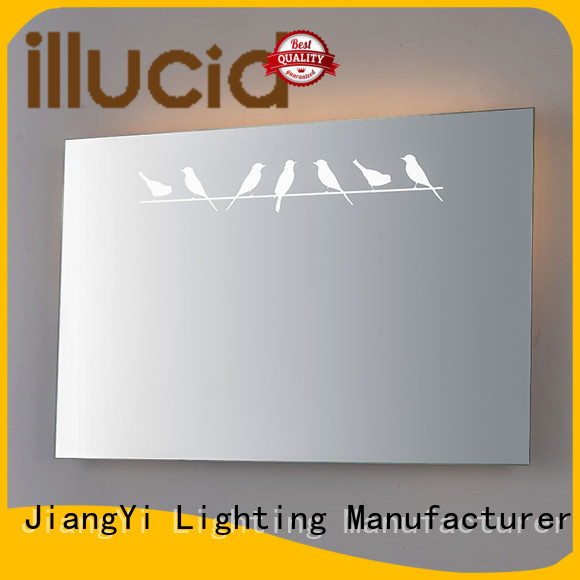 rectangle led mirror mirror make up