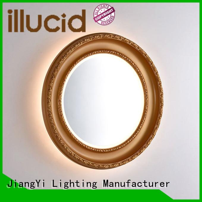JiangYi oval led mirror lighting