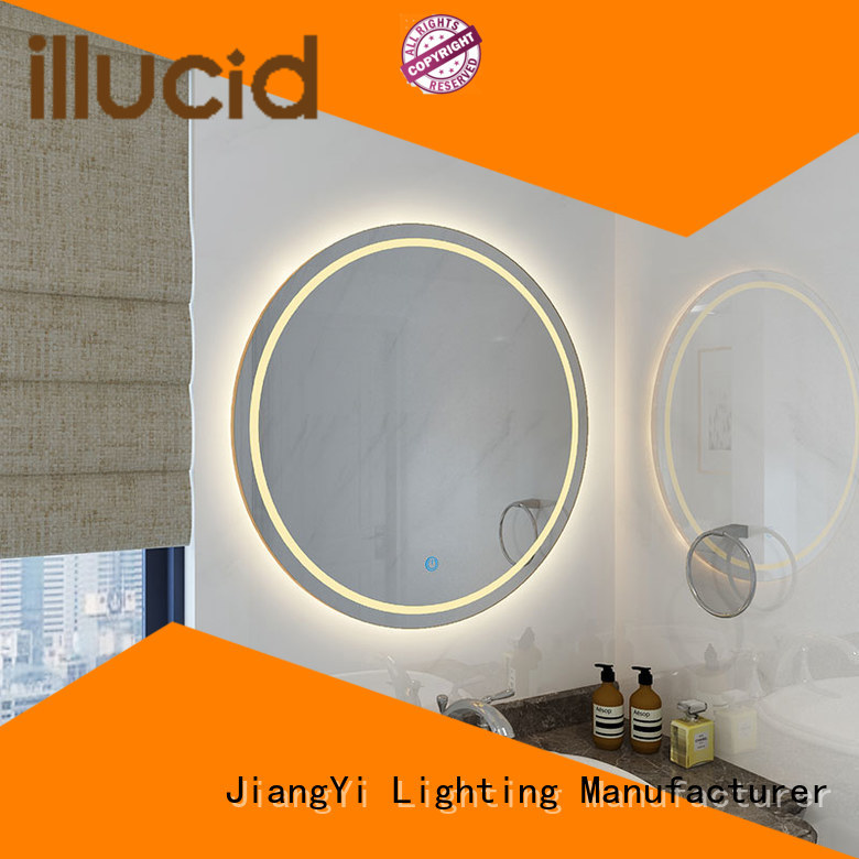 JiangYi led circle mirror light
