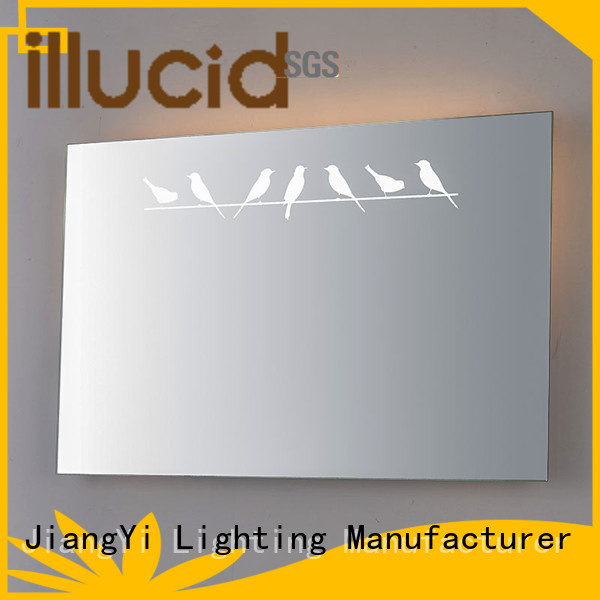 JiangYi led rectangle led mirror light living room