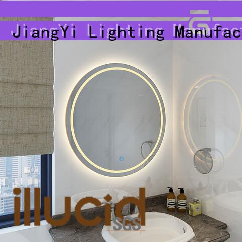 JiangYi mini light up mirror mirror living room