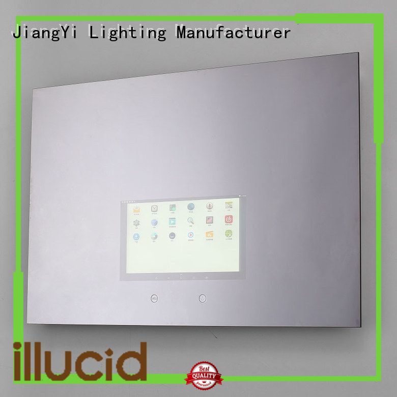 led rectangle led mirror light make up
