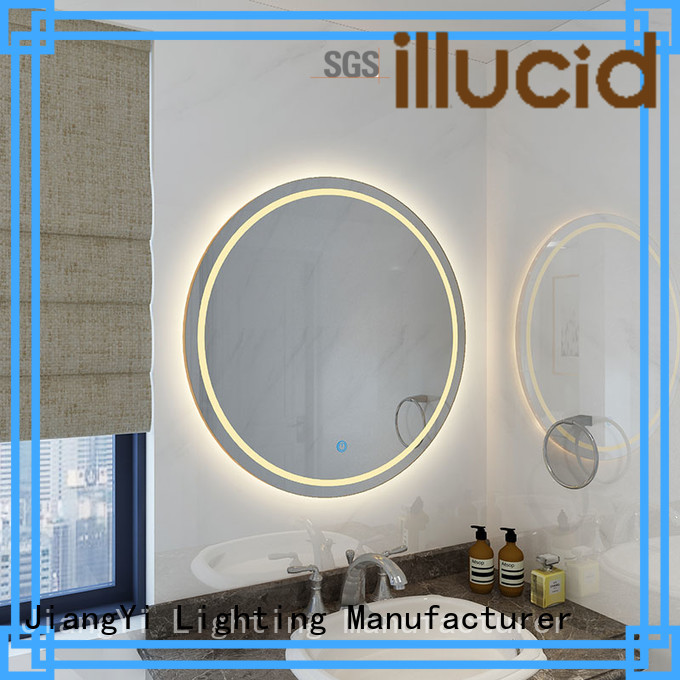 JiangYi round led mirror light living room