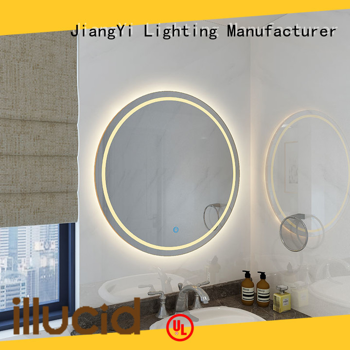 JiangYi led lights around mirror at home