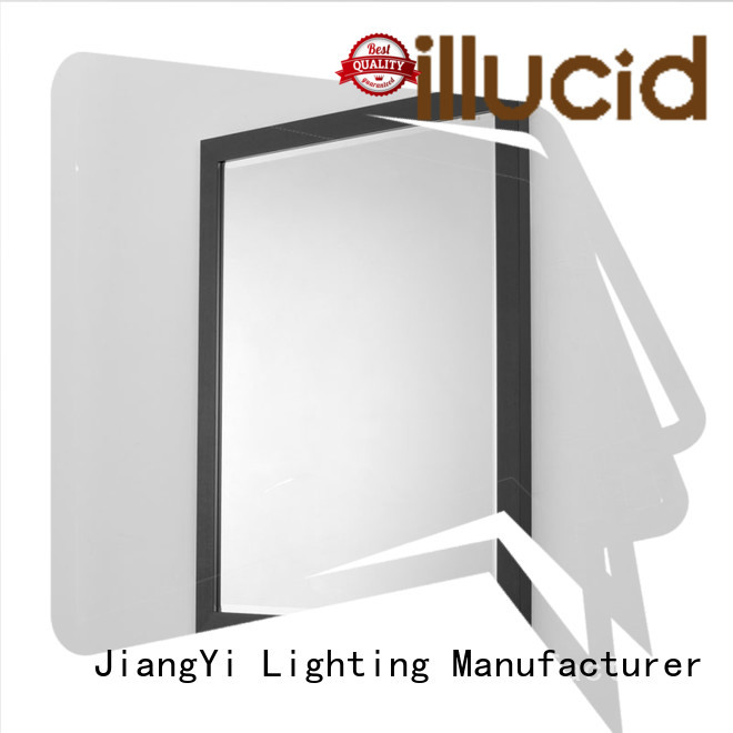 JiangYi led rectangle led bathroom mirror mirrors living room