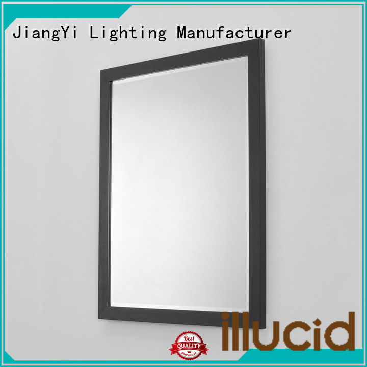 JiangYi electric rectangle led mirror lighting bathroom