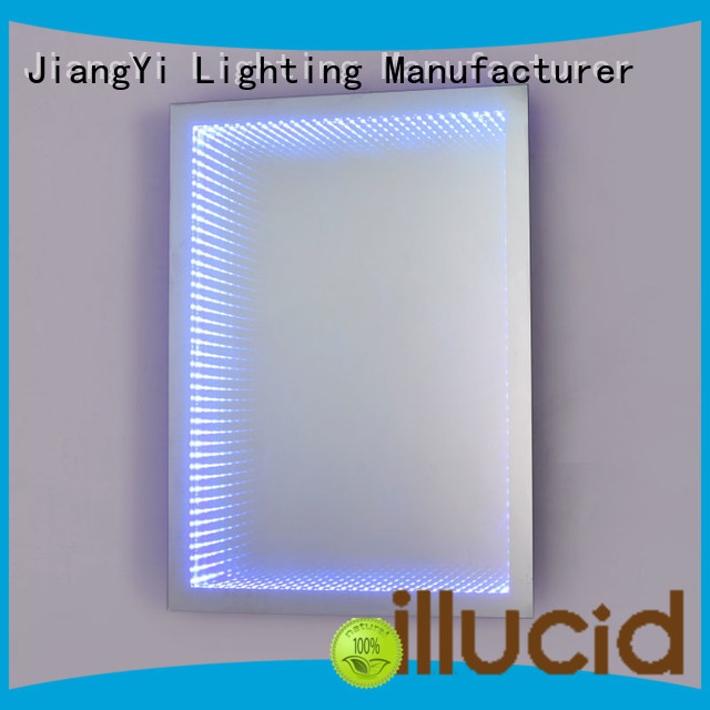 electric rectangle led mirror lighting at home