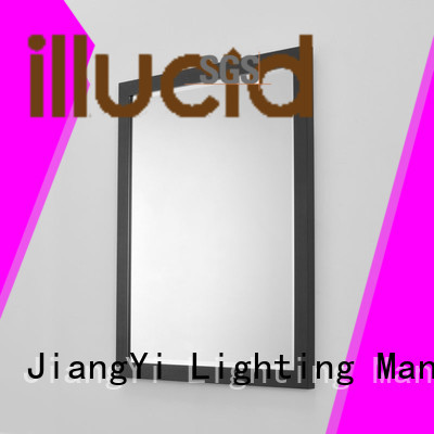 JiangYi toilet mirror with light mirror at home