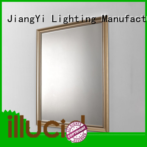 JiangYi rectangle led bathroom mirror