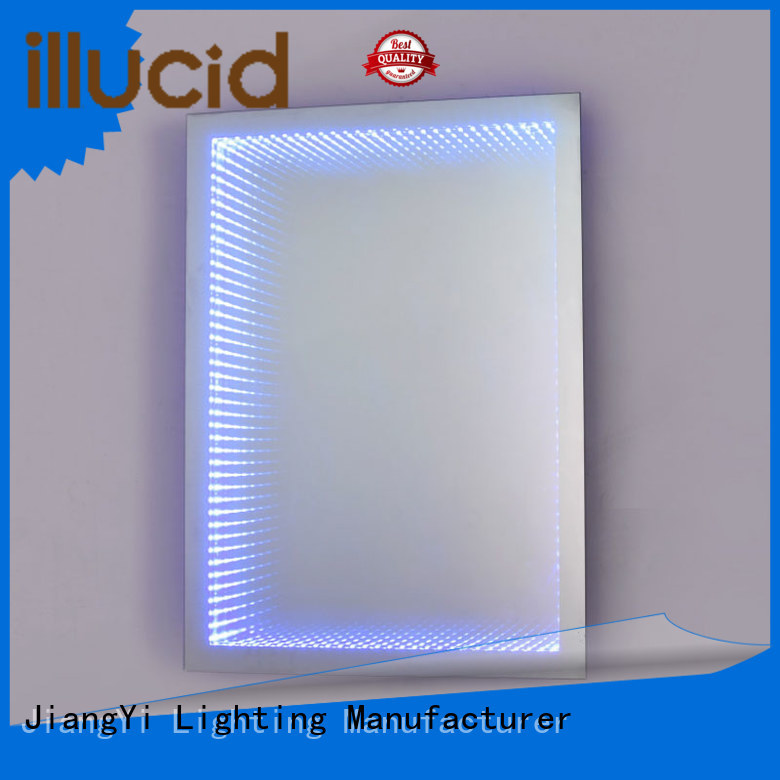 electric rectangle led bathroom mirror lighting at home