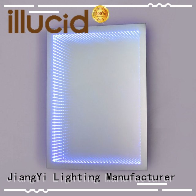 JiangYi best rectangle led bathroom mirror living room