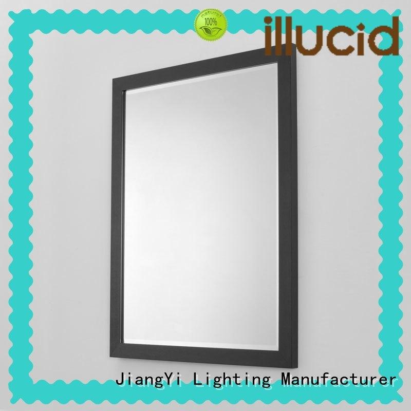 rectangle led mirror bathroom