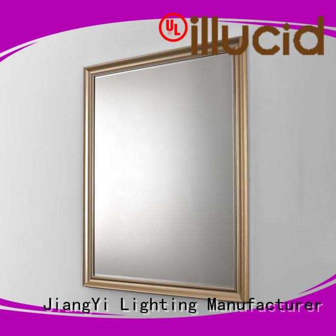 JiangYi modern rectangle led mirror make up