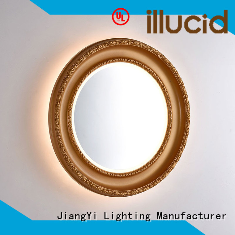JiangYi electric oval led mirror mirror at home