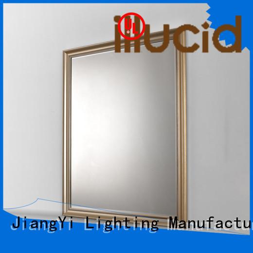 JiangYi modern rectangle led bathroom mirror mirror living room