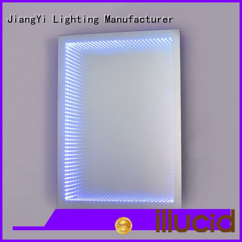 JiangYi rectangle led bathroom mirror light make up