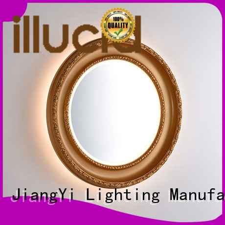 JiangYi oval led mirror mirror