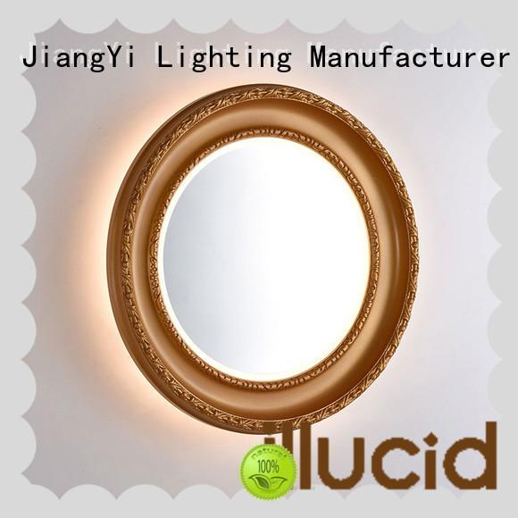 JiangYi oval led bathroom mirror lighting living room