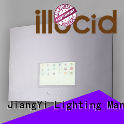 JiangYi electric rectangle led mirror mirror living room