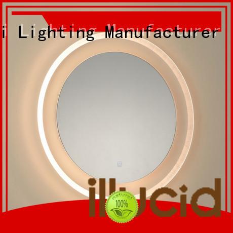 JiangYi best led circle mirror lighting bathroom