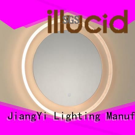 JiangYi led circle mirror mirror make up