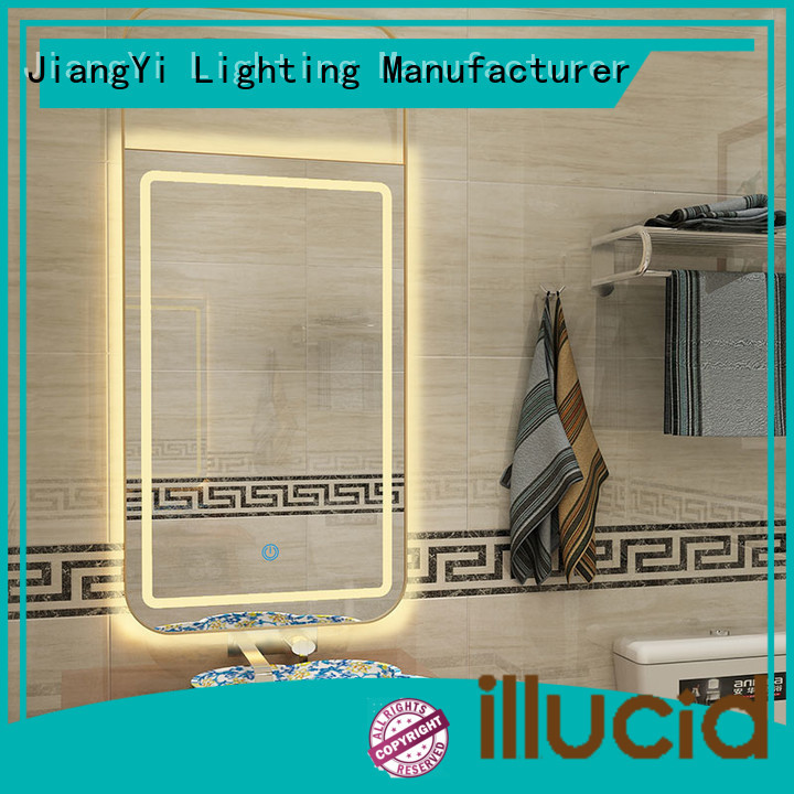 JiangYi rectangle led bathroom mirror light