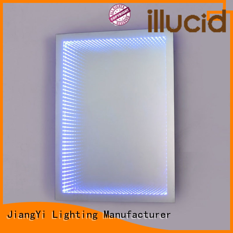 JiangYi electric rectangle led mirror light make up