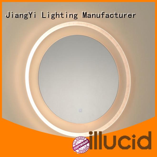 large light up mirror