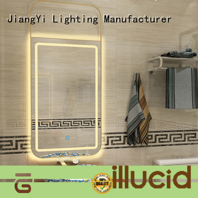 JiangYi rectangle led mirror mirrors living room