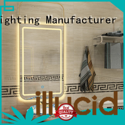 JiangYi best rectangle led mirror lighting
