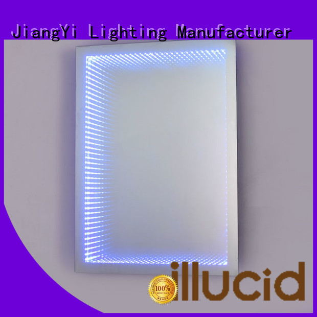rectangle led mirror at home JiangYi