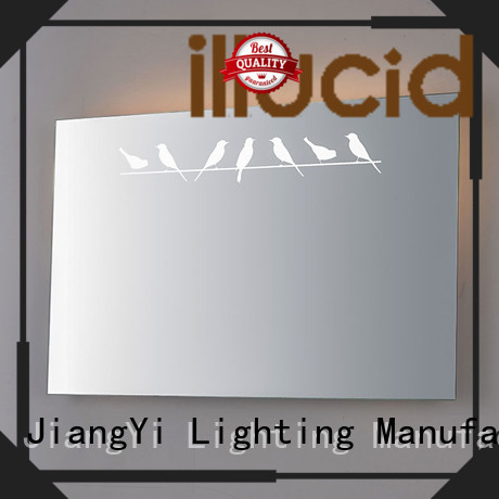 JiangYi best rectangle led mirror mirror at home