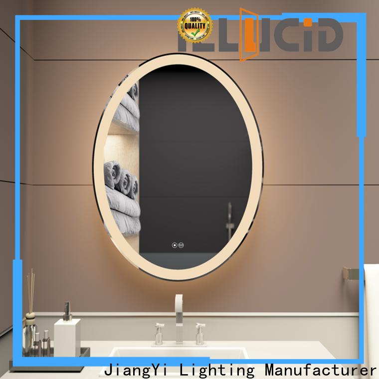 JiangYi Custom illuminated light mirrors company living room