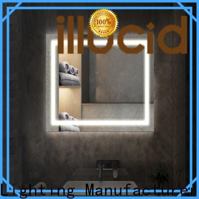 JiangYi Latest illuminated bathroom mirrors led living room