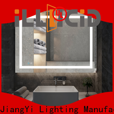 JiangYi Latest lights on a mirror for business make up