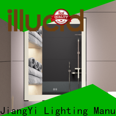 Latest large illuminated mirror Suppliers at home
