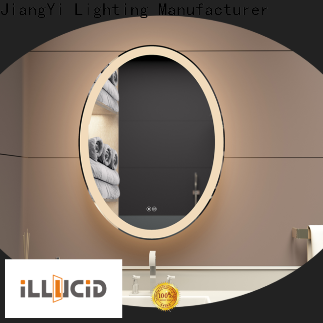JiangYi High-quality large led vanity mirror