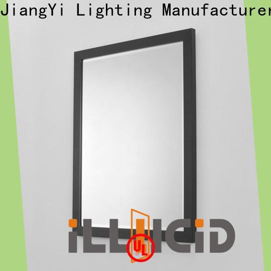 led narrow wall mirror light